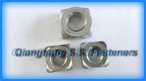 square weld nuts DIN928 A B Weld nuts   Schweissmutte r Square welded nut