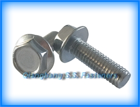 flange bolt GB5787  hexagon bolt with flange  5789    hexagon flange bolts-Small series    fastener